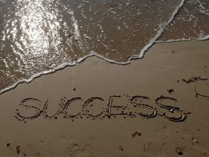 Success Erfolg Strand Beach